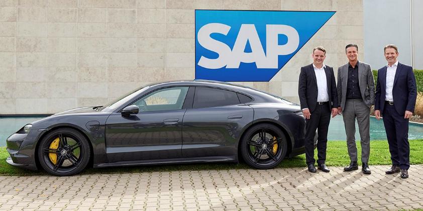 Porsche and SAP announce strategic partnership